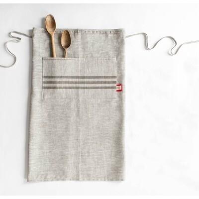 Long Linen Apron