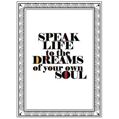 Speak Life Card