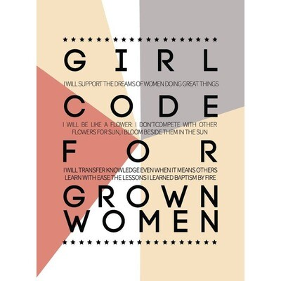 Girl Code Card