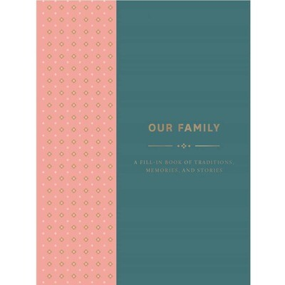 Our Family: Fill in Book