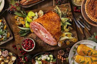 MARCH 2-6 /  Bone in Country Ham OR Maple Tofurky Ham