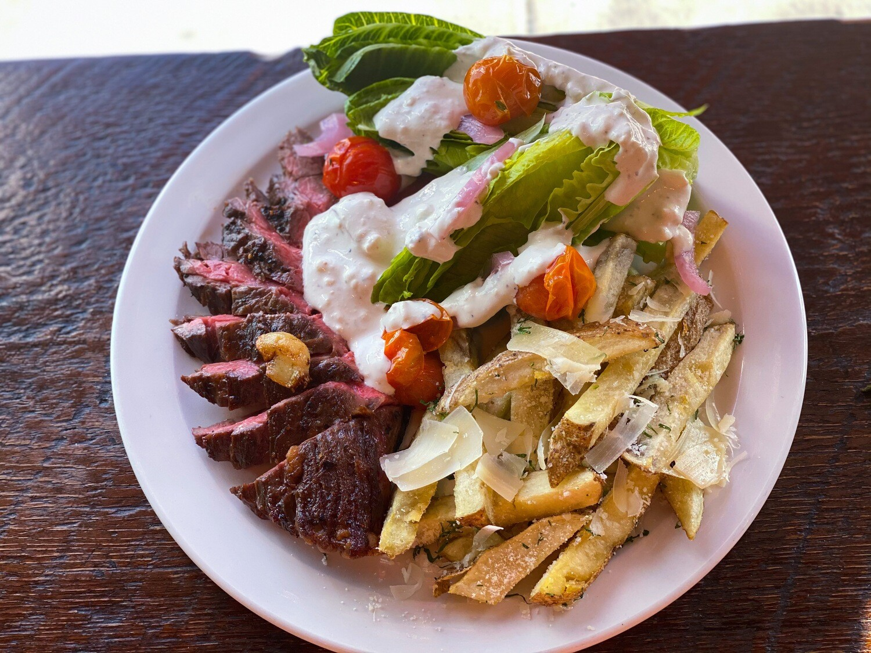 MARCH 9-13 /  Marinated & Seared Skirt Steak or Roasted Mushroom Medley