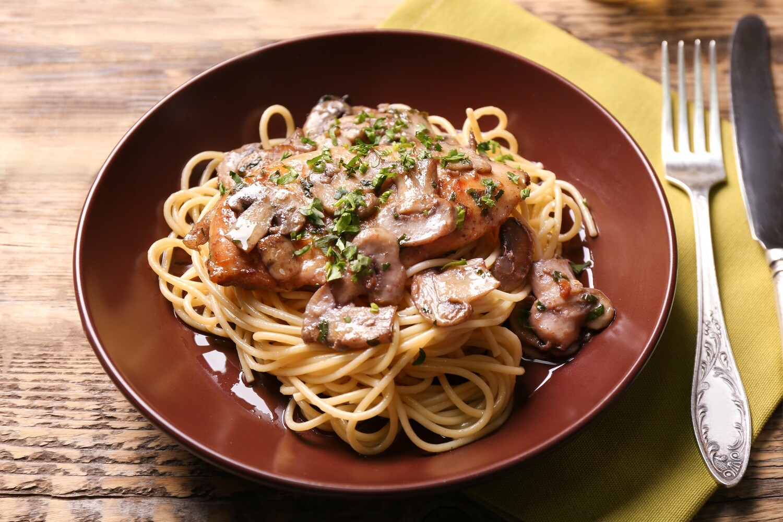 APRIL 27-MAY 1 /  Chicken Marsala OR Baked Eggplant Parmesan