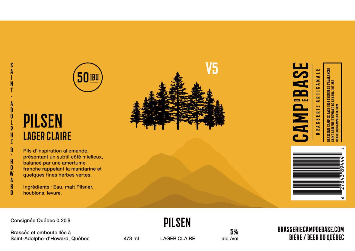 V5 Pilsen Canette 473 ml