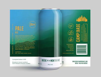 Bière de la montagne - Pale ale - Cannette 473 ml