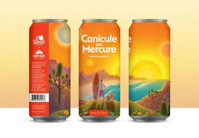 Canicule sur mercure - Canette 473 ml
