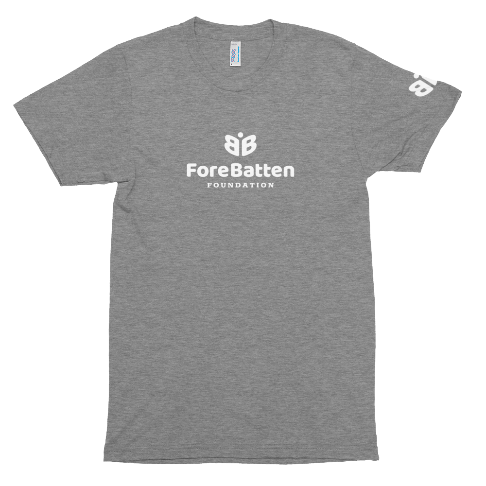 Fore Athletes (Tri-Blend Track Shirt)