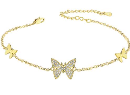 Butterfly CZ Bracelet
