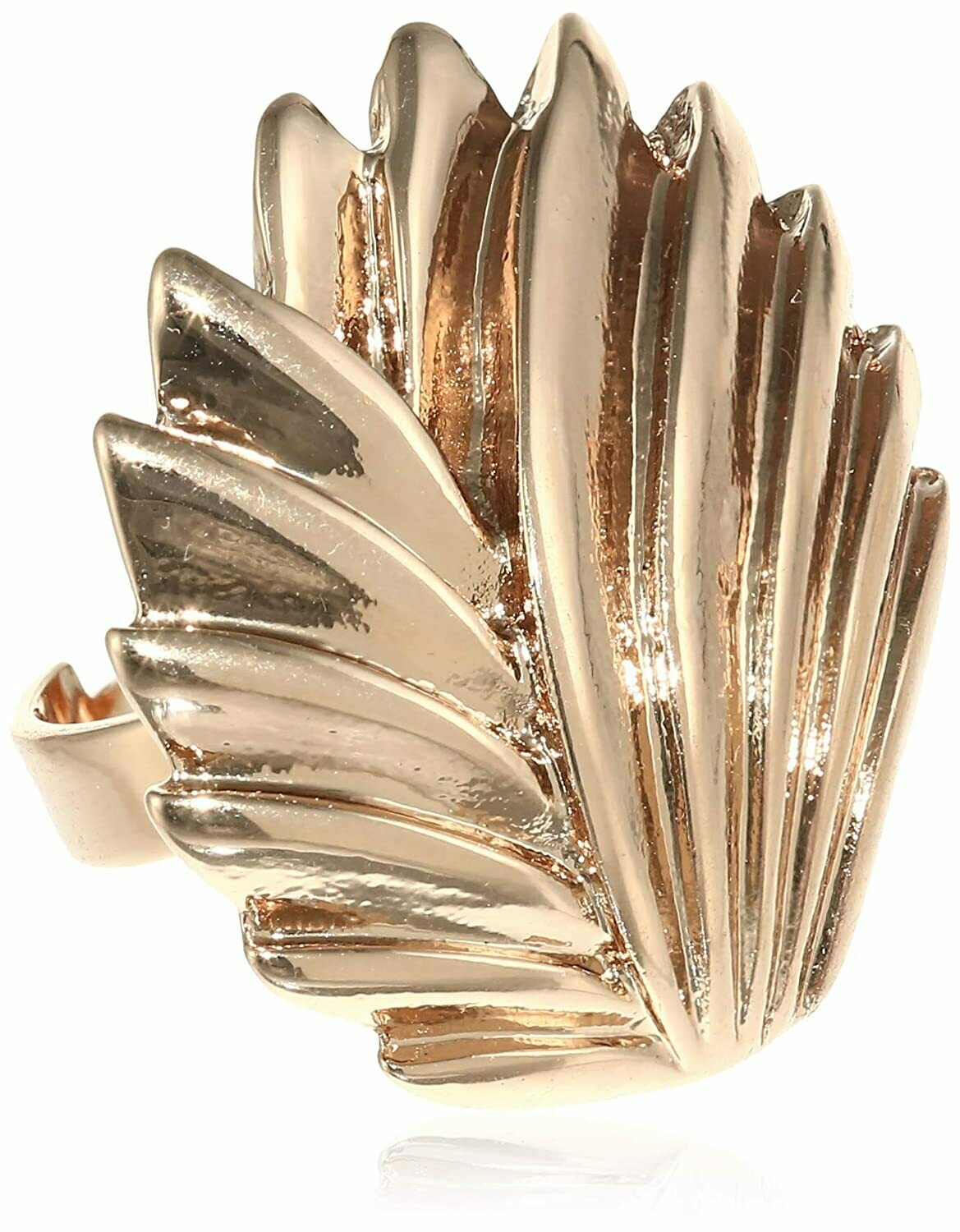 Estele Fashion Rose Gold Plated Modern Cacti Ring for Women