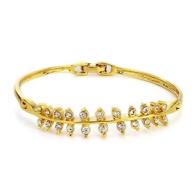 Estele  Gold Plated AD Studded Bracelet