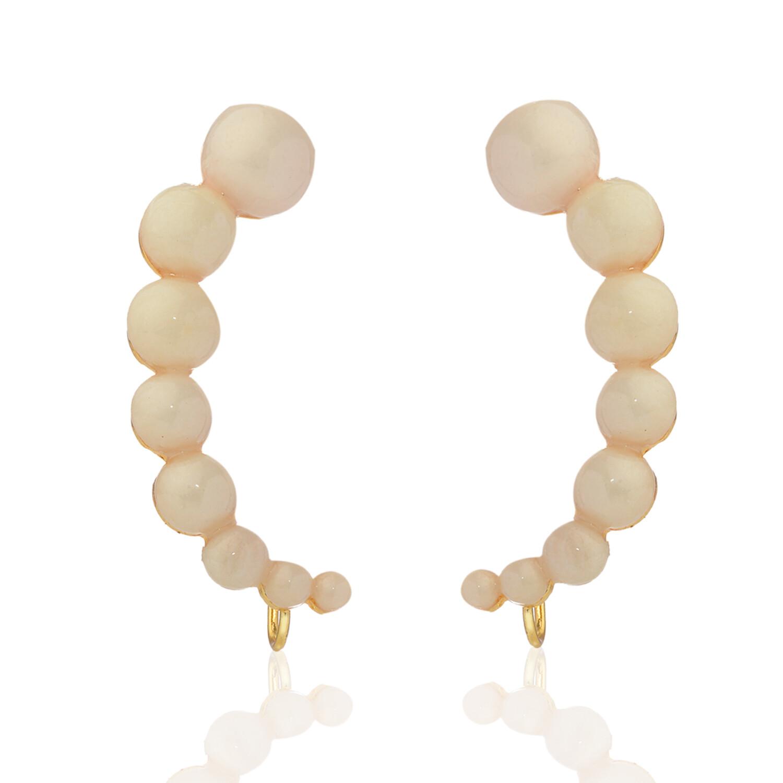 Estele Classic Pearl Ear Cuffs