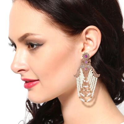 Estele Cultured Pearls Drop Earring