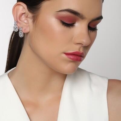 Estele Sweetpea American Diamond Earring
