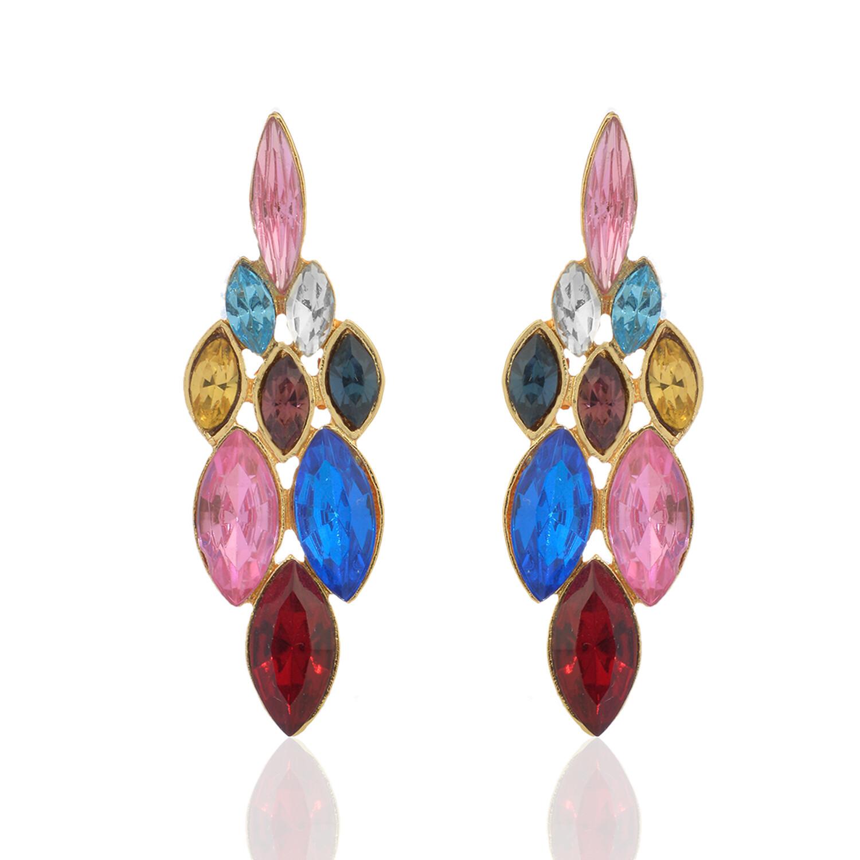 Estele Colourful Stone Earring