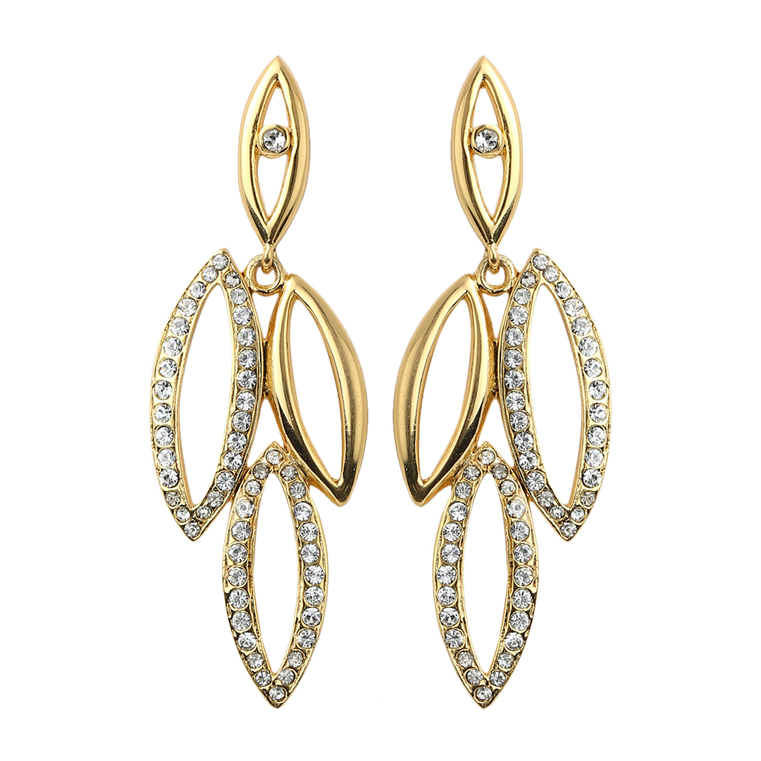 Estele Diamante Stone Earrings