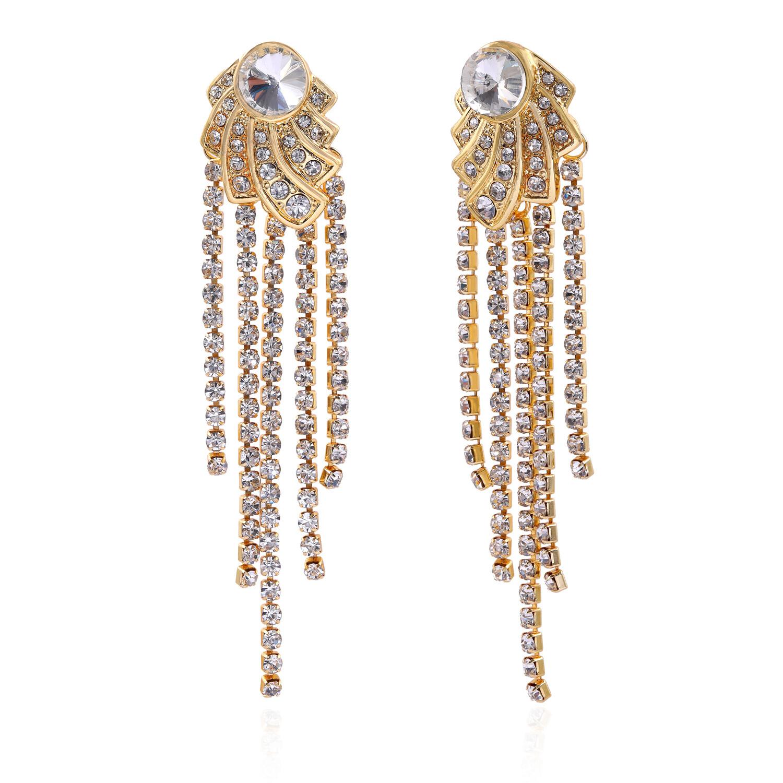 Estele Ethnic Fusion Tassel Dangle Drop earrings