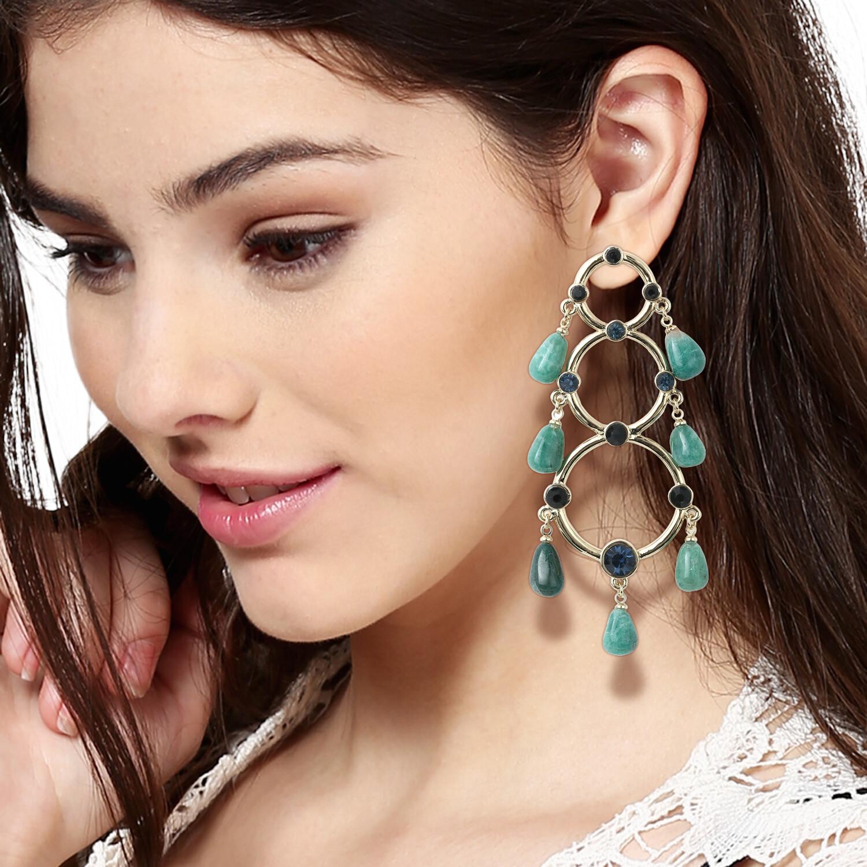 Estele Morocco Green Earring