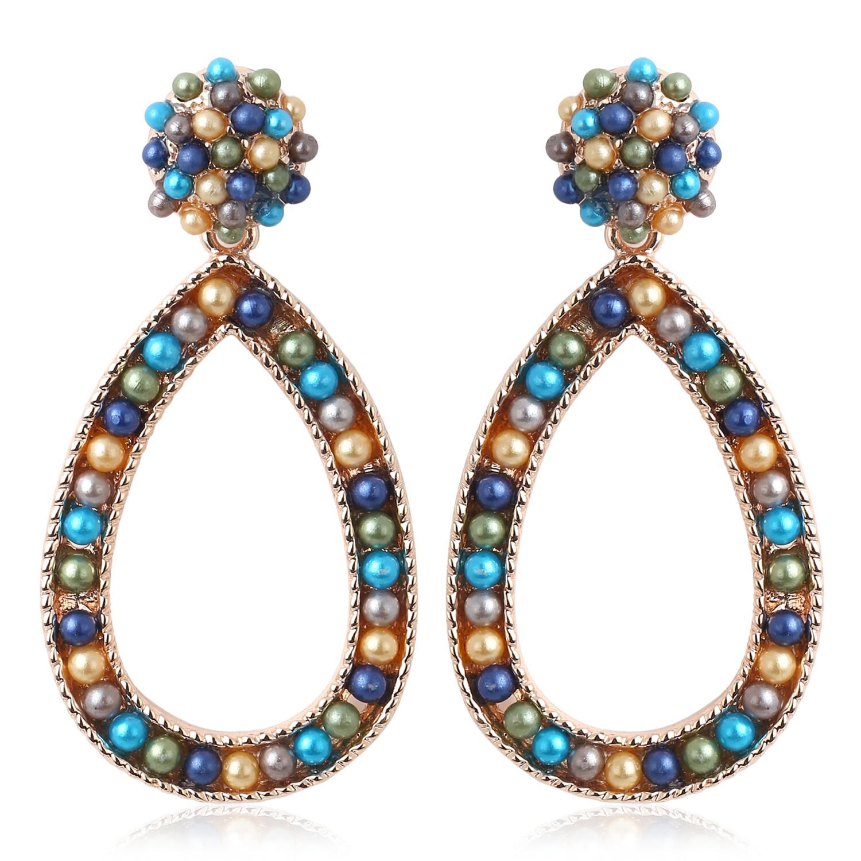 Estele Pearl Bead Earrings