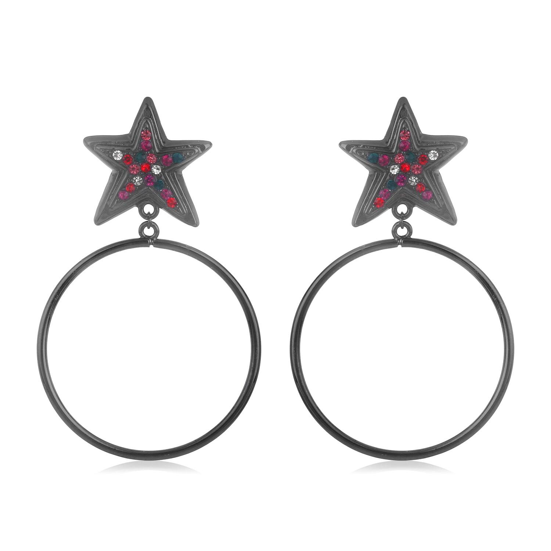 Estele Star Hoops Earring
