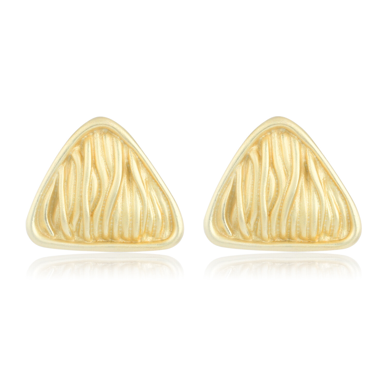 Estele Veins Triangle Earring