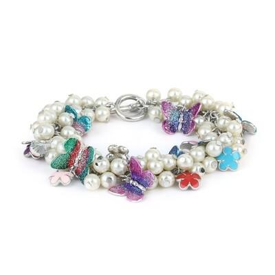 Pearly Gardenia Bracelet