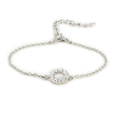Halo Bracelet Using Swarovski Stones