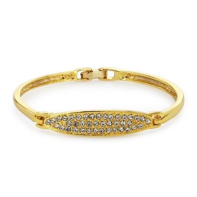 White Austrian Crystal Stone Bracelet