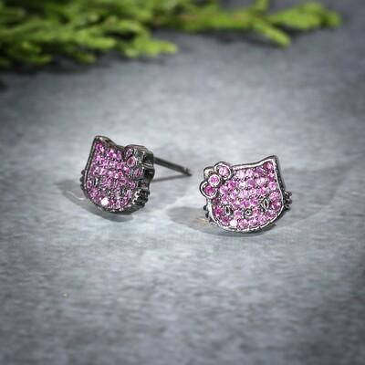 IndusDiva Coloured Micro Stone Studs Earring