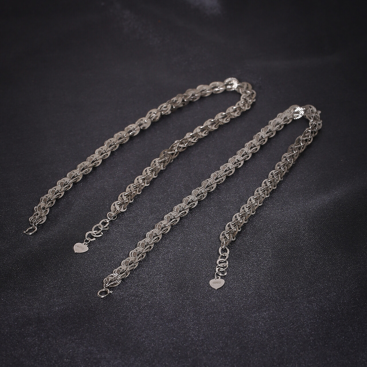 IndusDiva Feather Linked Anklet