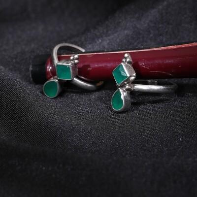 IndusDiva Oxidized Toe-ring