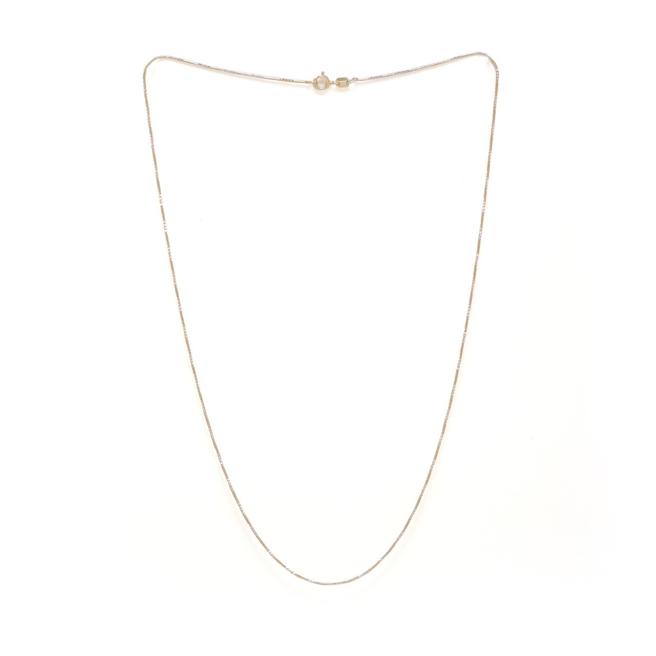 IndusDiva Laser Cut Italian Necklace Chain