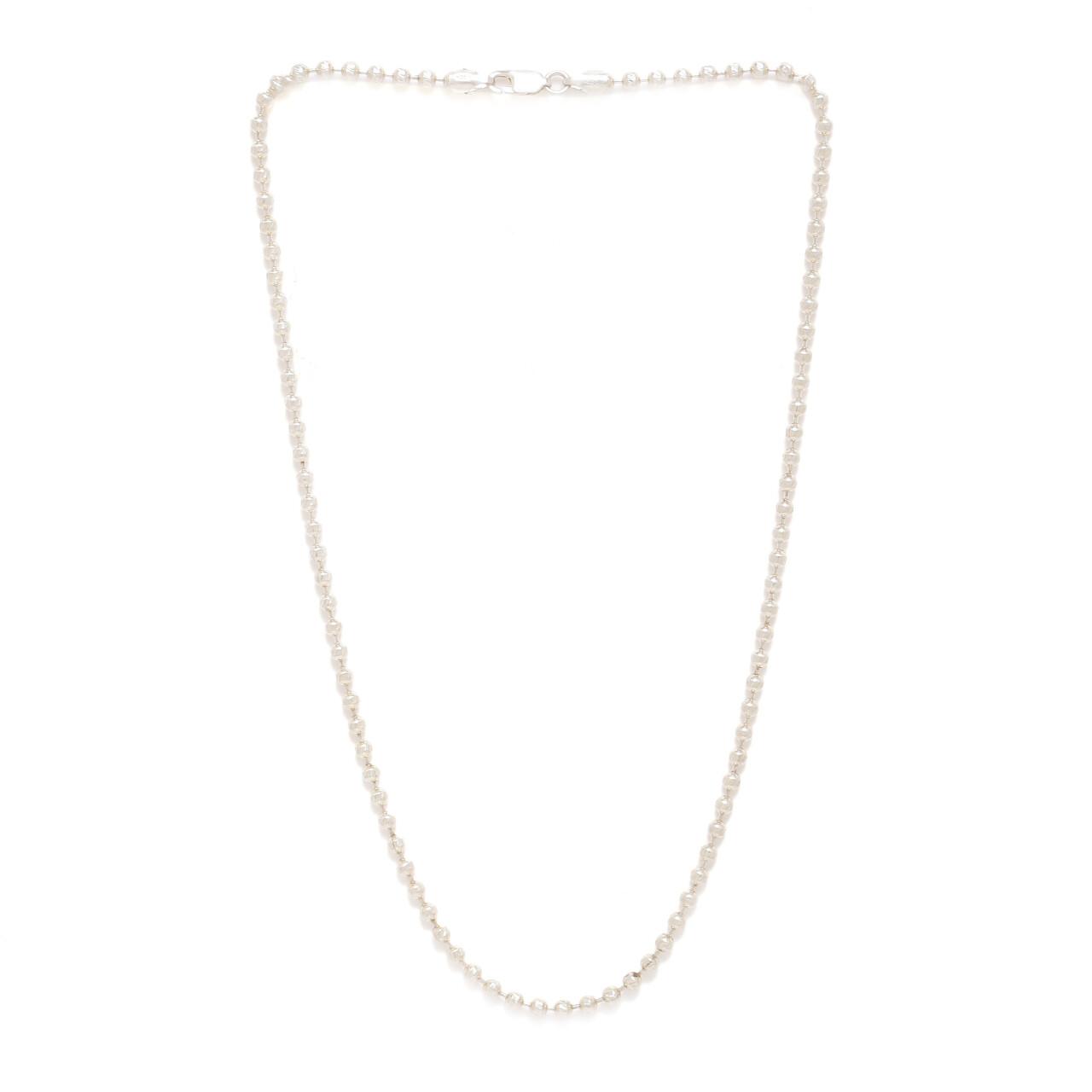 IndusDiva Plain Beads Necklace Chain