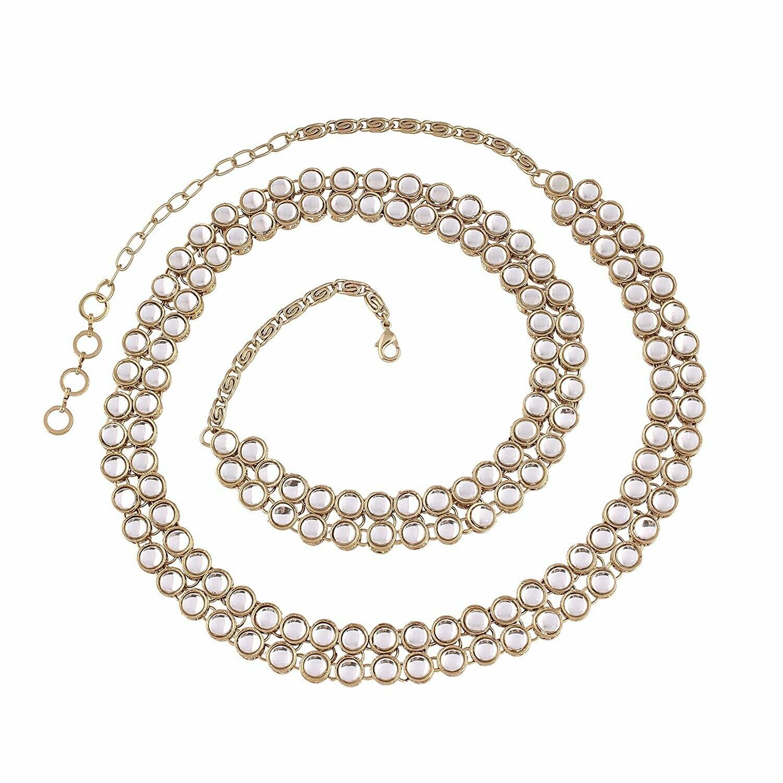 Aheli Ethnic Kundan Waist Chain