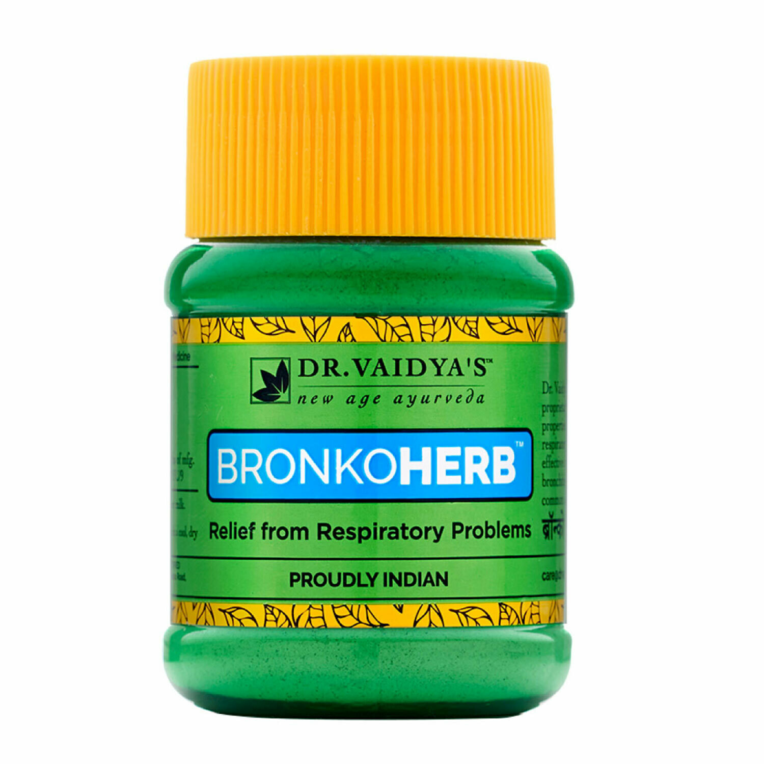 Dr. Vaidya's Bronkoherb Powder Ayurvecic Treatment for Respiratory Problems - Pack of 2