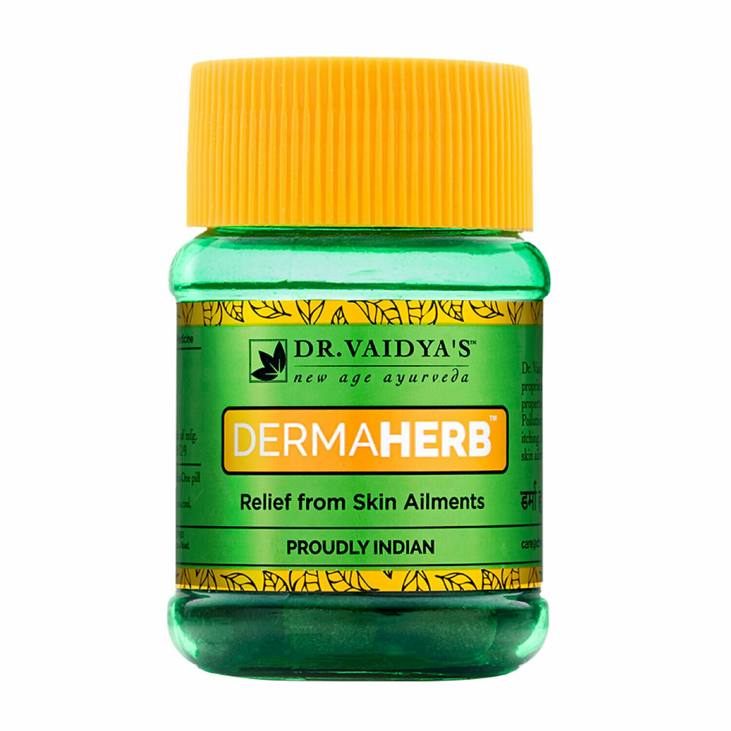 Dr. Vaidya's Dermaherb Pills - Ayurvedic Treatment for Skin Allergies & Eczema - Pack of 2