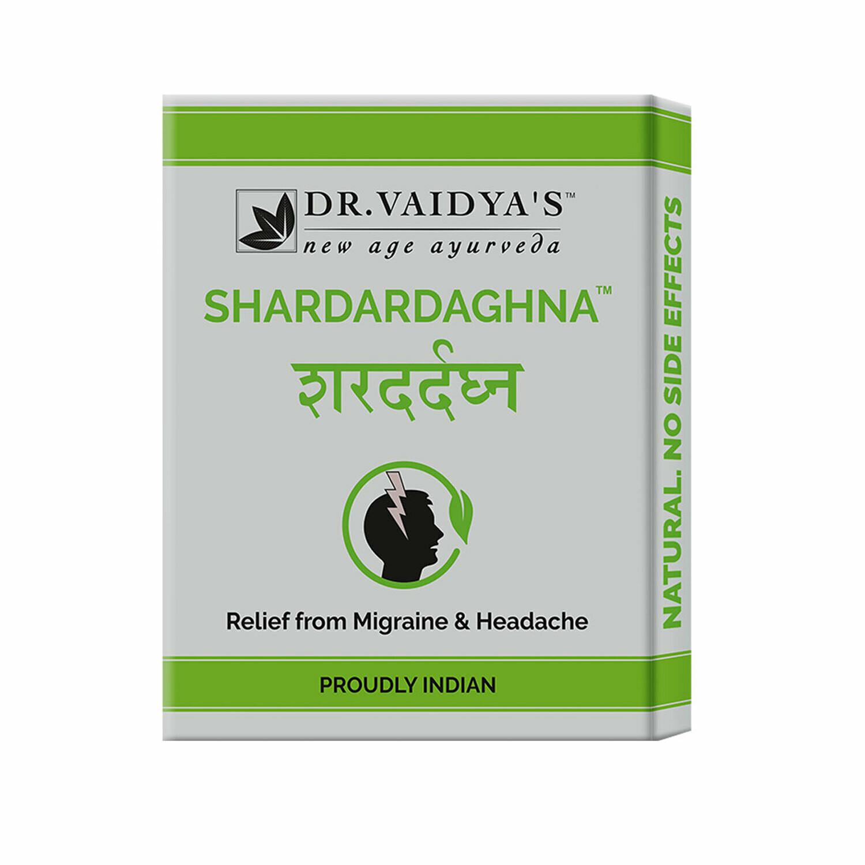 Dr. Vaidya's Shardardaghna Pills - Ayurvedic Treatment for Migraine & Headache - Pack of 3
