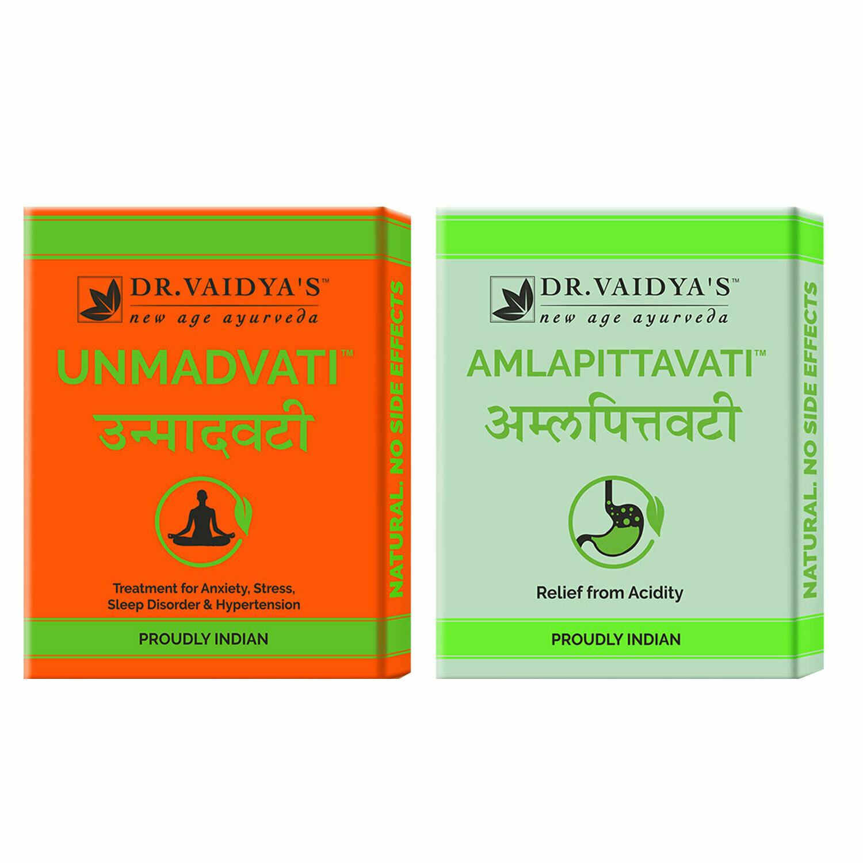 Dr. Vaidya's Acidity/Hypertension/Anxiety Pack