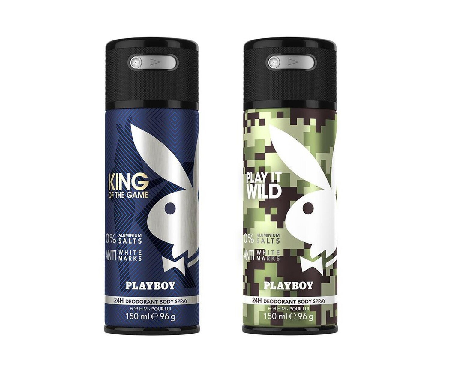 Playboy King + Wild Deo New Combo Set - Pack of 2 Men