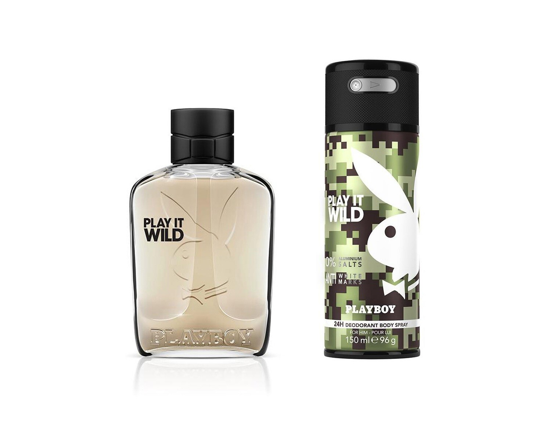 Playboy Wild Set Eau de Toilette100ml + BS150ml