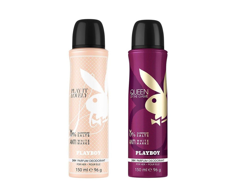 Playboy Queen + Lovely Deo New Combo Set Pack of 2 Men