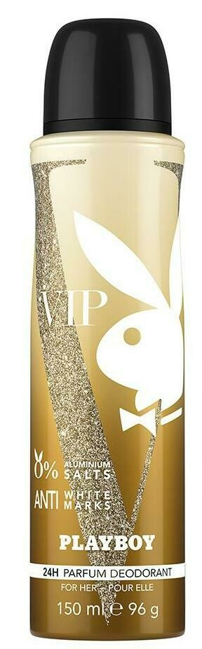 Playboy Vip Women Deodorant Spray 150ml