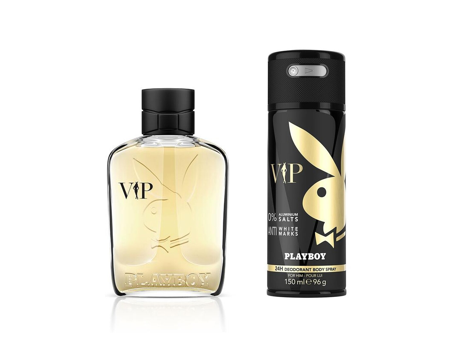 Playboy VIP For Men Eau de Toilette 100ml  +  Body Spray 150ml