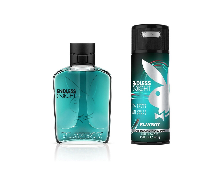 Playboy Endless Night For Men Eau de Toilette 100ml  +  Body Spray 150ml
