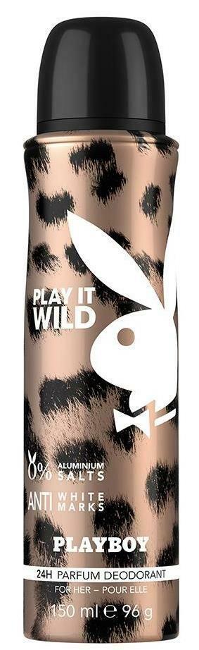 Playboy Wild Women Deodorant Spray 150ml