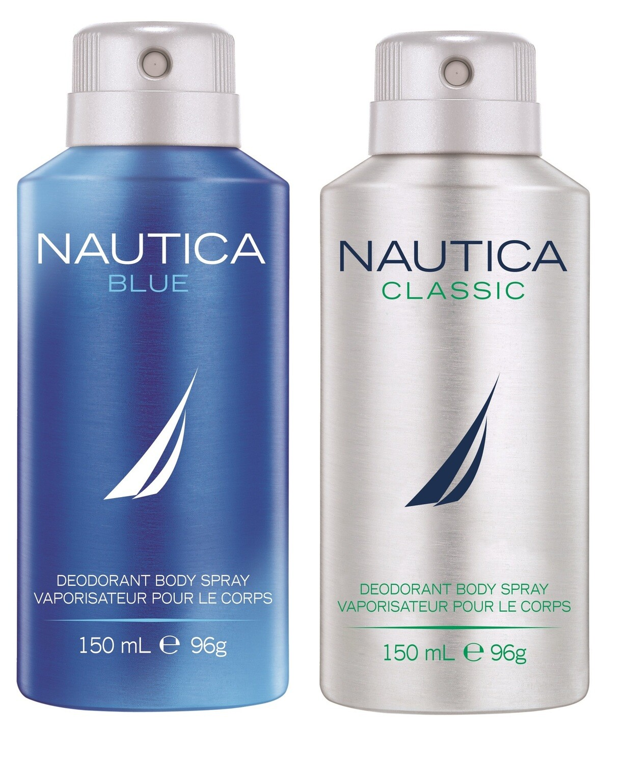Nautica Voyage + Voyage Sport Deo Combo Set - Pack of 2