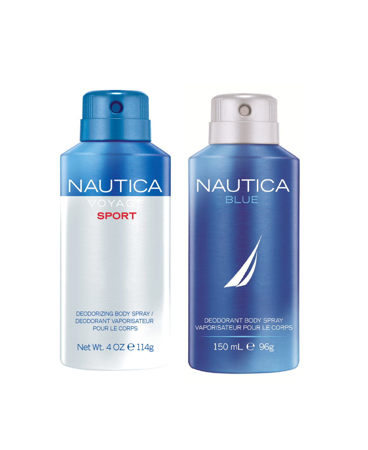 Nautica Voyage Sport + Blue Deo Combo Set - Pack of 2