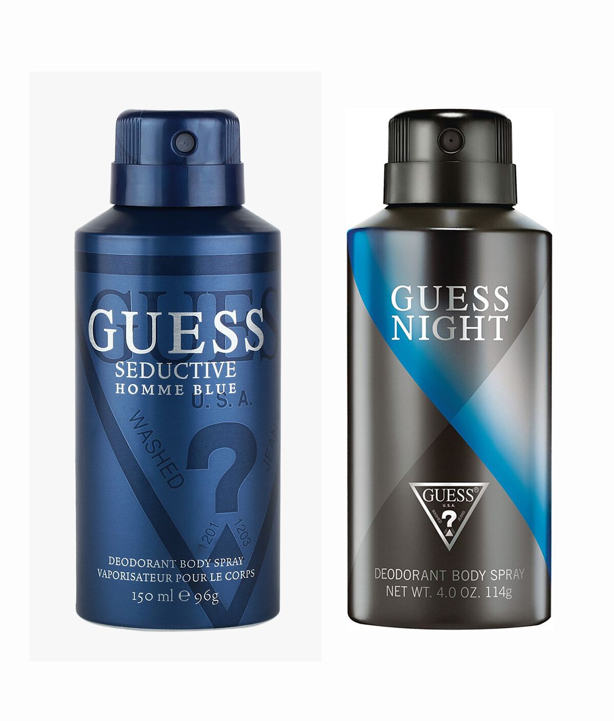 Guess Seductive Home Blue + Night Deo Combo Set - Pack of 2