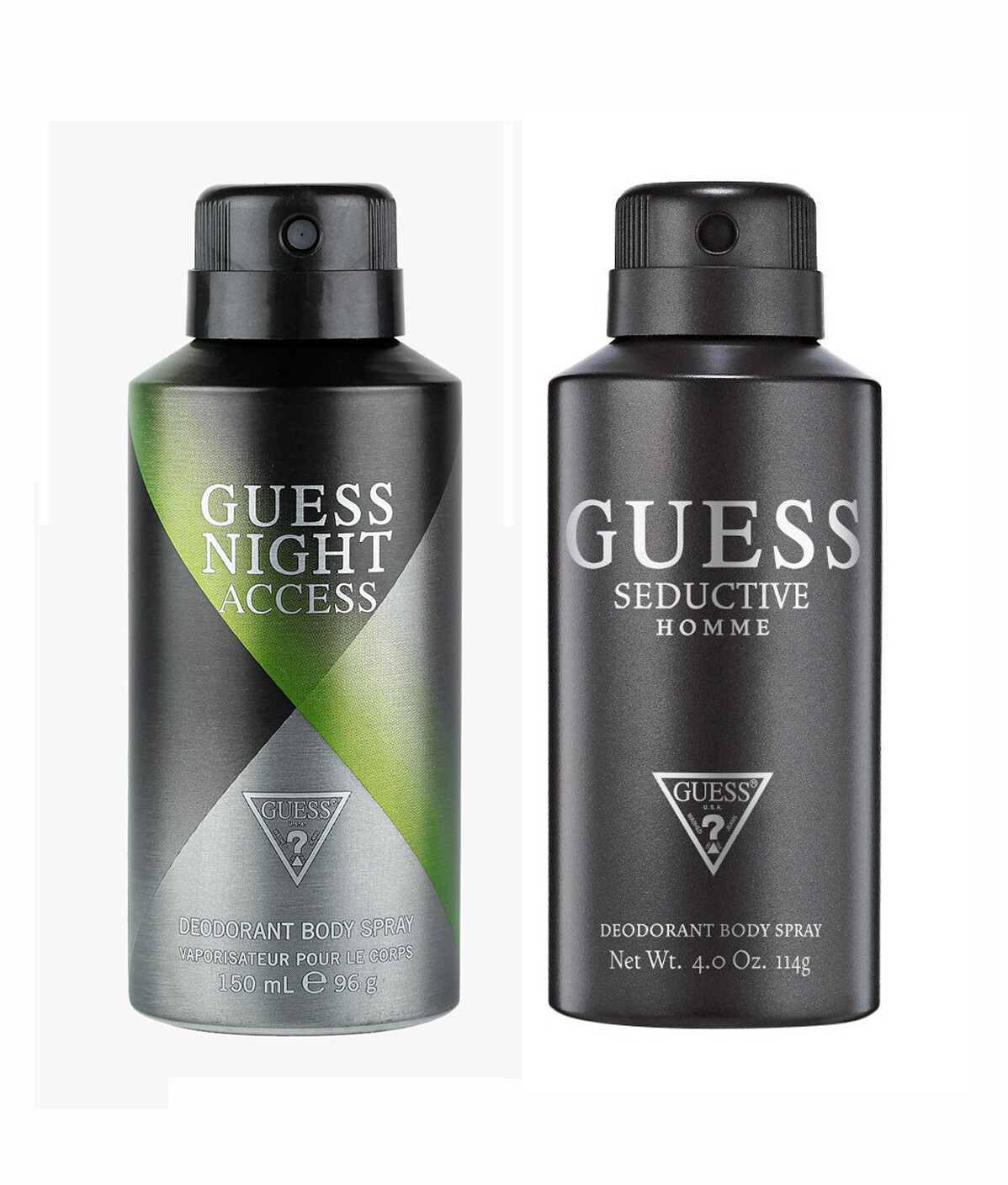 Guess Seductive Home + Night Access Deo Combo Set - Pack of 2