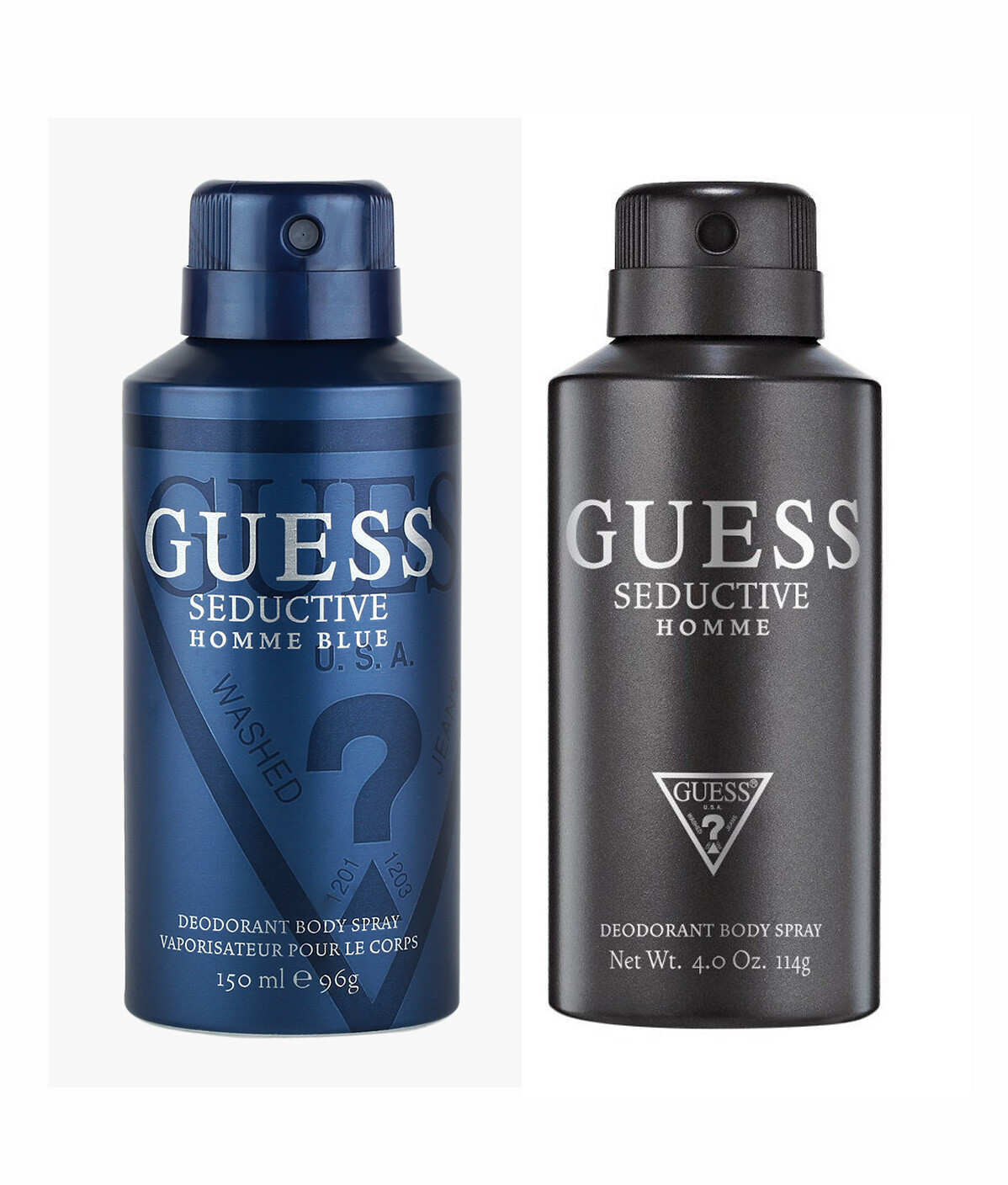 Guess Seductive Home Blue + Seductive Home Deo Combo Set - Pack of 2