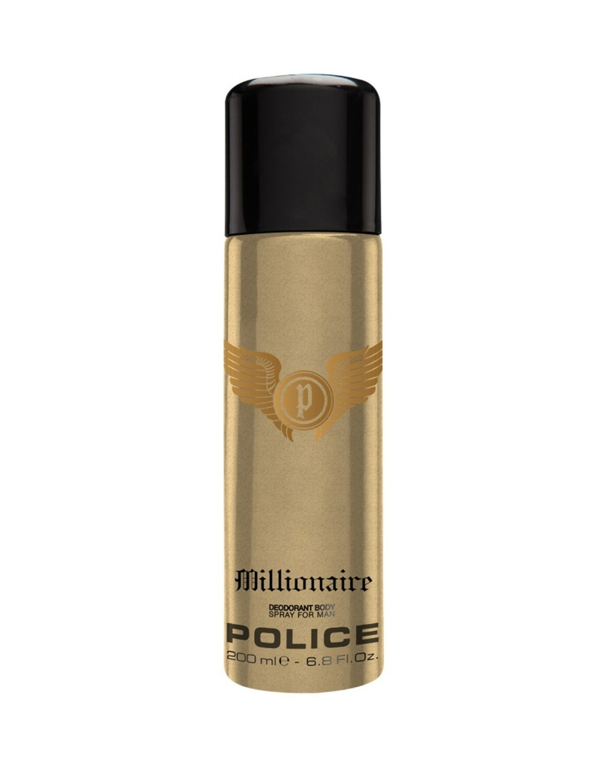 Police Millionaire Homme Deodorant Spray 200ml